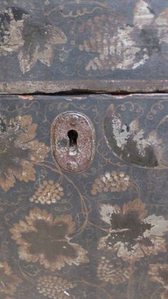 Victorian Painted Domed Top Trunk