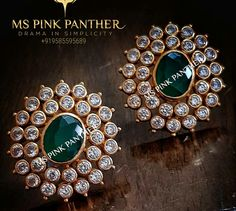 My choice pri ce of my choice what is the price - Gold Jewelry Gold Jhumka Earrings, Gold Earrings Designs, Gold Jewellery Design, Jewellery Diy, Diamond Earrings, Fashion Jewelry, Emerald Jewelry, Gold Jewelry, Tiffany Jewelry