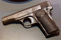 this was the gun that assassinated the archduke franz ferdinand and his wife.