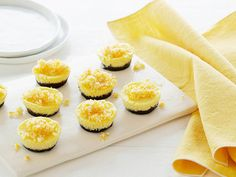 Individual Orange and Chocolate Cheesecakes Recipe : Giada De Laurentiis : Food Network - FoodNetwork.com