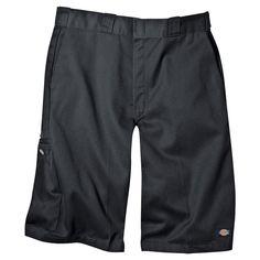 Dickies Men's Big & Tall Loose Fit Twill 13 Multi-Pocket Work Short- Charcoal (Grey) 50