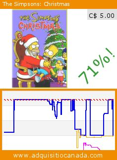 The Simpsons: Christmas (DVD). Drop 71%! Current price C$ 5.00, the previous price was C$ 16.98. By Dan Castellaneta, Nancy Cartwright, Julie Kavner, Yeardley Smith, Harry Shearer. http://www.adquisitiocanada.com/20th-century-fox-home/simpsons-christmas