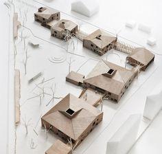 LETH & GORI is a danish architecture office based in Copenhagen Architecture Student, Concept Architecture, Architecture Drawings, Landscape Architecture, Architecture Design, Chinese Architecture, Architectural Scale, Architectural Elements, Kindergarten Design
