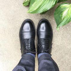 Paraboot 雨予報を聞いて靴変更しました  #paraboot #parabootmiramas #miramas #shoes #memshoes #sotd #shoesoftheday #パラブーツ #パラブーツミラマ #ミラマ #紳士靴 #革靴