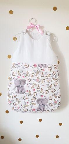 Gigoteuse Eléphant - iletait-unefois.com Baby Ideas, Baby Love, Bb, Summer Dresses, Fashion, Pregnancy Announcements, Shrimp, October, Layette