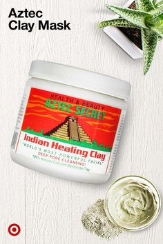 Aztec Secret Indian Healing Clay Facial Treatment - Aztec clay masks are a beauty trend must-try. The healing clay is perfect for face masks, foot soaks, body wraps & more. Facial Treatment, Skin Treatments, Beauty Care, Beauty Skin, Beauty Hacks, Beauty Ideas, Face Beauty, Diy Beauty, Beauty Secrets