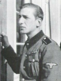 SS-Oberscharführer Erik Wallin 11.SS-Freiwilligen-Panzergrenadier-Division Nordland.
