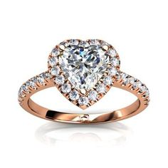 rose gold engagement ring - Google Search