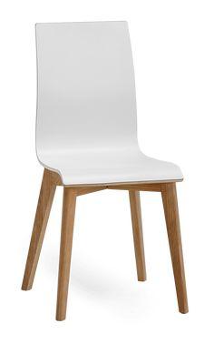 AVENUE-tuoli (Valkoinen/Tammi)