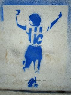 Buenos Aires street art #Maradona