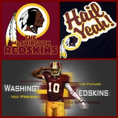 Washington Redskins! Hail!