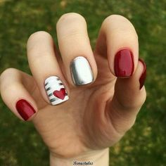 35 Pretty Nail Art Designs for Valentine's Day 2019 Uñas Acrilicas 💅 French Nails, French Manicures, French Pedicure, French Polish, Gel Pedicure, Pedicure Ideas, Mani Pedi, Hair And Nails, My Nails