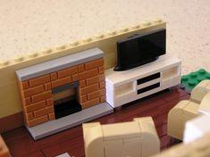 Terrace House - Modualr Building: A LEGO® creation by Matt Burgess : MOCpages.com
