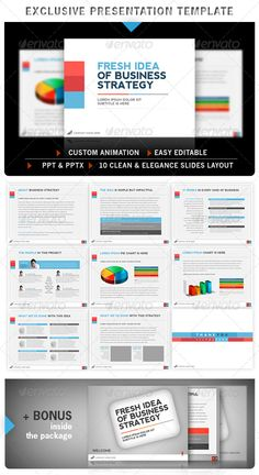 Simple pro powerpoint interactive template business powerpoint exclusive powerpoint template graphicriver exclusive clean and simple powerpoint template this template is just perfect and has professional look for toneelgroepblik Gallery