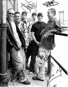 Old Linkin park band pic