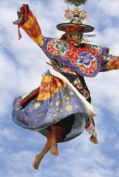 Black hat dance, Bhutan. One of my Dream Travel destinations!!!