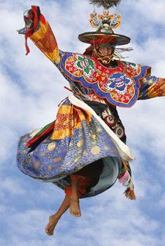 Black hat dance, Bhutan. One of my Dream Travel destinations!!!