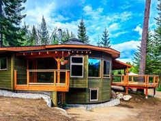 BC's First Energy Star Qualified Home is a Round Beauty