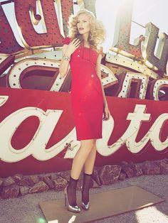 Tiffany... Las Vegas Life Fall 2012 Editorial Story  Hair: Dennis Marshall Cooper  Photographer: Robert John Kley  Makeup: Sarah Barker  Styling: Staci Michelle  Model: Tiffany McDaniel Singleton