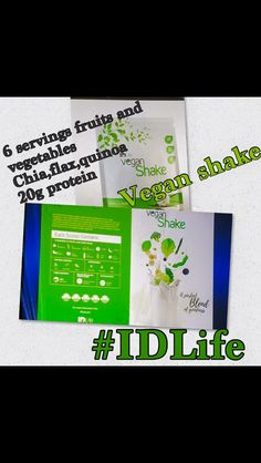 New vegan shake! Vegan Shakes, Protein Shakes, Nutrition, Personal Care, Fruit, Life, Self Care, Personal Hygiene