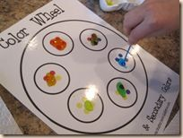 Lots of ideas for numbers, colors, shapes review for preschoolers.
