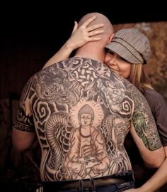 40 Best Buddha Dragon Tattoo images | Buddha, Tattoos, Dragon