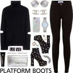 Kickin' It: Platform Boots