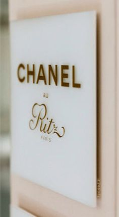 Emmy DE * Chanel SPA @Ritz #Paris