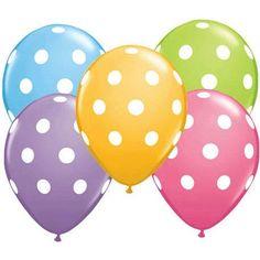 12 Polka Dot Balloons Bright Festive Colors (Assorted Colors) Qualatex http://smile.amazon.com/dp/B001584CUA/ref=cm_sw_r_pi_dp_abrYub0HM5V4B