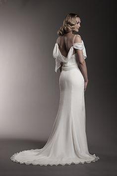The Magnificent Flirt  Wedding Dress -  Amy Kuschel Bride