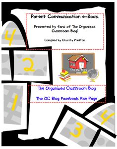 Free eBook for how to communicate with parents of your students!  http://www.theorganizedclassroomblog.com/index.php/blog/how-do-you-communicate-with-parents