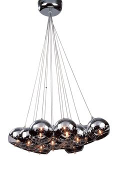 Maeve 10 Light Pendant Lamp @Pascale Lemay Lemay De Groof