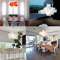 Dining room with Foscarini\'s Big Bang Fixture. | My Interior ...