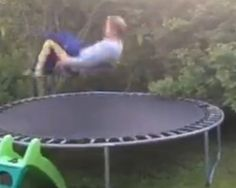 Why drunk people should stay off trampolines