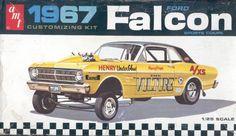AMT 1967 Falcon box art