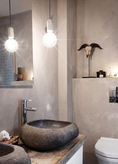 kalkmaling på bad - Google-søk Jotun Lady, Mineral Paint, Beautiful Bathrooms, Wall Colors, Minimalist Design, Scandinavian Design, Master Bathroom, New Homes, Bathtub