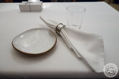 Table at Eleven Madison Park in NYC, New York