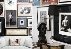 Michael Bastian Shares Glimpse Of Studio Michael Bastian, Cfda Awards, New Politics, Living Room Inspiration, Gallery Wall, Entertaining, Mens Fashion, Studio, Frame