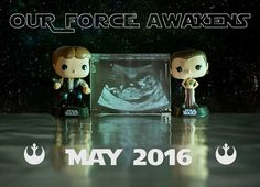 Our star wars pregnancy announcement! - Imgur