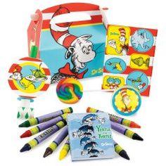 Dr. Seuss Party Favor Box Dr Seuss Birthday Party d90a8017f