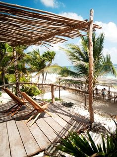 Not a bad view. Tulum, Mexico