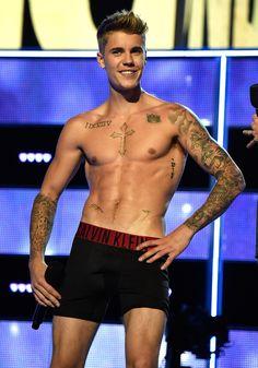 Justin Bieber calvin's