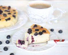 Диетический чизкейк с рикоттой и голубикой   Рецепты правильного питания - Эстер Слезингер