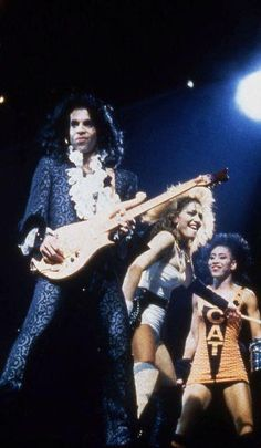 Prince, Sheila E and Kat