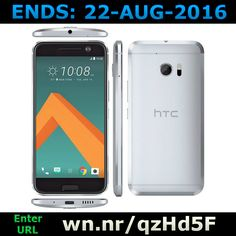 ENDS 22-AUG-2016  --  #Win an #HTC 10 #android smartphone >>wn.nr/qzHd5F<< #competition #giveaway #htc10 #google #sweepstakes