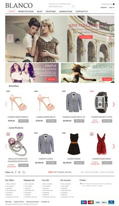 Best eCommerce WordPress Theme for any online store with responsive layout http://www.webtempo.ch