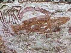 Rock art of Australia, Kakadu National Park, Northern Territories.