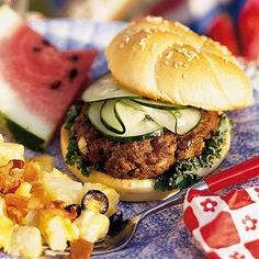 Hamburger Recipes : Terrific Teriyaki Burgers