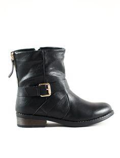 ΜΠΟΤΑΚΙ ΜΑΥΡΟ Bellisima, Biker, Boutique, Boots, Fashion, Crotch Boots, Moda, Fashion Styles, Shoe Boot