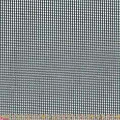 Cotton Seersucker Shirting - Green Check